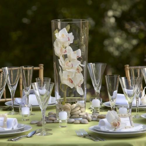 Tischdeko mit orchideen veredeln ihren festtag - Tischdeko orchideen ...