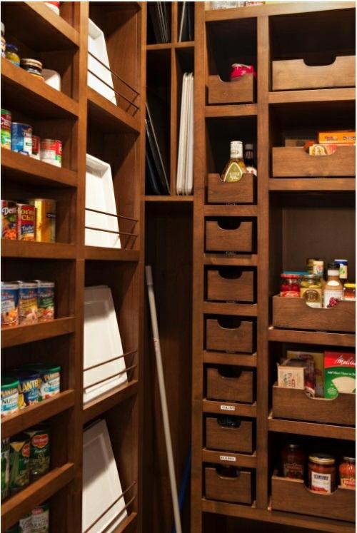 Tolle ideen für kleine küchen : 20 tolle Speisekammer Ideen in der ...