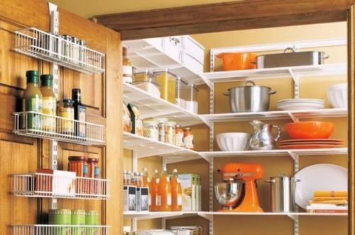 20 tolle speisekammer ideen aufbewahrung von lebensmitteln. Black Bedroom Furniture Sets. Home Design Ideas