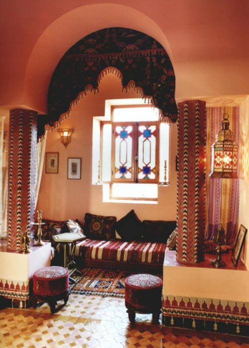 22 Marokkanische Wohnzimmer Deko Ideen U2013 Einrichtungsstil Aus Dem Orient ...