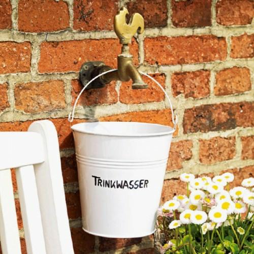 trinkwasser nette deko metall idee