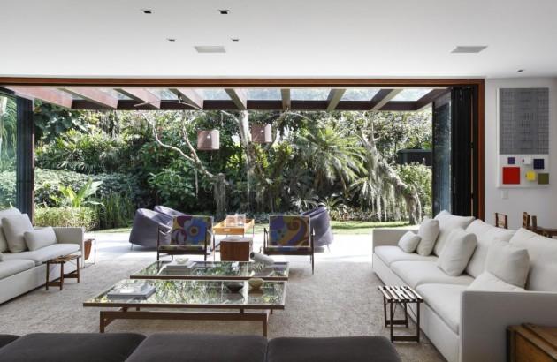 luxus wohnzimmer modern:Moderne, innovative Luxus Interieur Ideen fürs Wohnzimmer – tropische