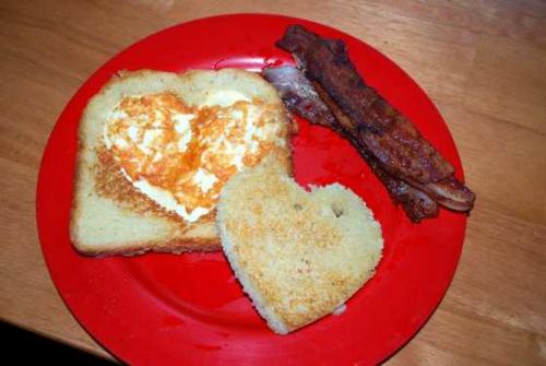 valentinstag idee frühstück geliebten romantik