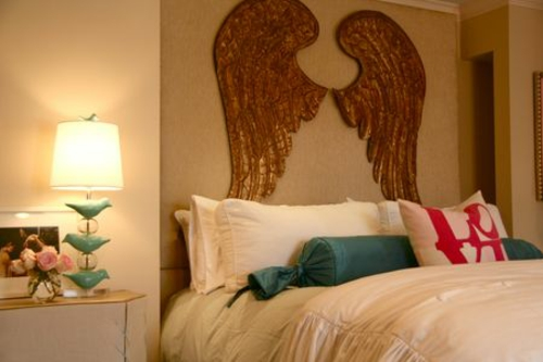 deko ideen mit engelsfl geln 15 tipps. Black Bedroom Furniture Sets. Home Design Ideas