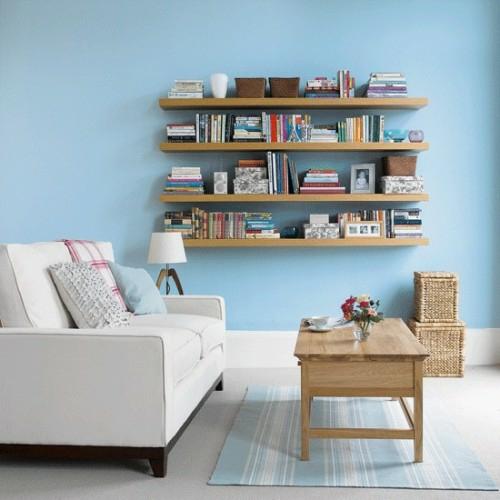 aufbewahrung und organisation im wohnzimmer 16 praktische tipps. Black Bedroom Furniture Sets. Home Design Ideas