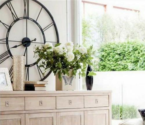 24 Extravagante, Antike Wanduhr Deko Ideen Für Ihre Wohnung | Dekoration ...