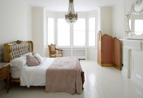 weiß ausstattung klassisch englisch schlafzimmer design