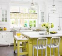 15 farbenfrohe Kücheninsel Ideen für Ihre Wohnung