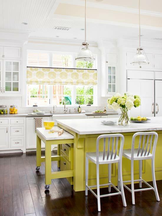 Kücheninsel Grün ~ 15 farbenfrohe kücheninsel ideen für ihre woh
