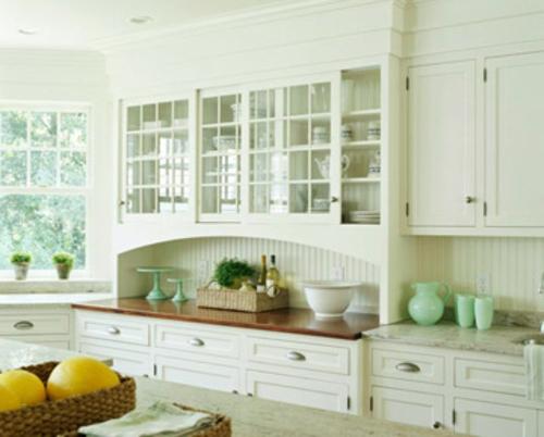 weiß möbel küche frisches obst idee design originell Küchen Grundrisse
