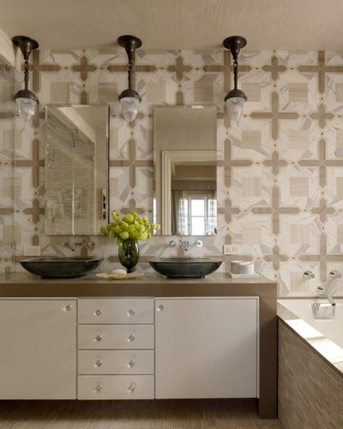36 sthetische badezimmer interieurs f r jeden verfeinerten geschmack - Bad deko schwarz ...