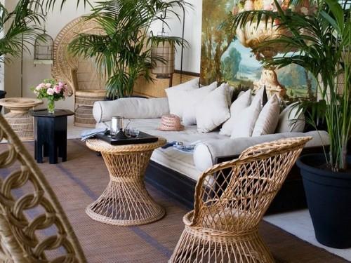 Marokkanische Wohnzimmer Deko Ideen Orientalisch