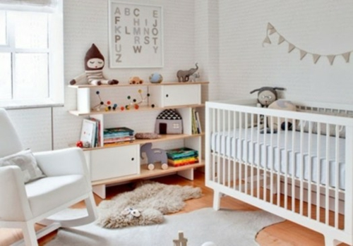 25 wei e kinderzimmer design ideen interessante und for Zimmer design ideen