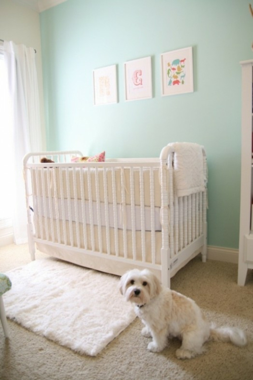 25 weiße Kinderzimmer Design Ideen - interessante und coole Vorschläge | {Babyzimmer wand 4}