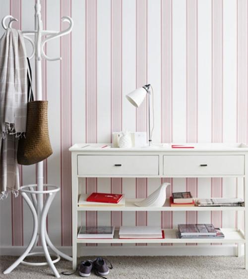 12 weitere ideen f r attraktive wanddekoration mit streifen. Black Bedroom Furniture Sets. Home Design Ideas