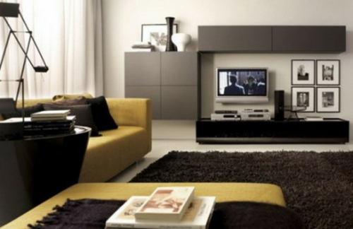 wohnzimmer einrichten grau braun raum und m beldesign inspiration. Black Bedroom Furniture Sets. Home Design Ideas
