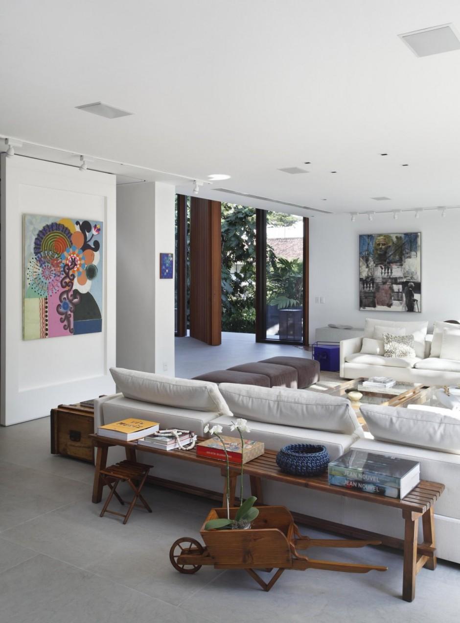 wohnzimmer weiß holz:Modern Colonial Style Homes