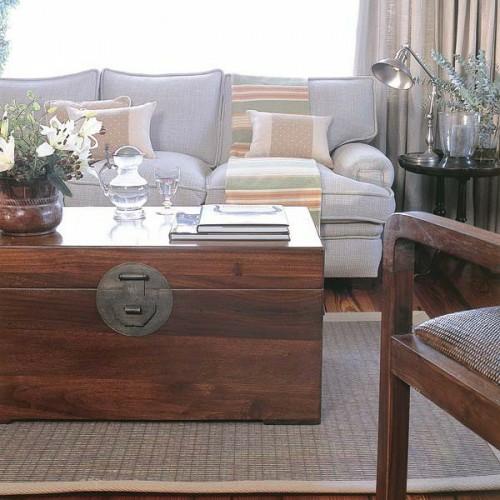 Holztruhe Tisch 15 originelle und extravagante ideen für innendekoration mit truhen