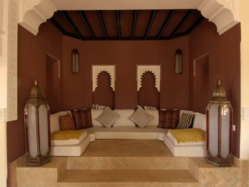 22 marokkanische wohnzimmer deko ideen-einrichtungsstil aus dem orient, Wohnzimmer