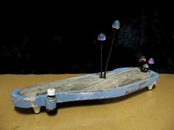 wunderbare pilz deko idee leuchtdiode