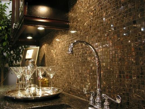 wunderschön glänzend idee küchenspiegel design luxus