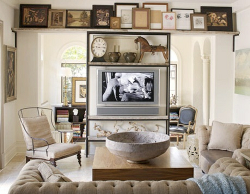 Zeitgenössisch Idee Haus Wohnung Bequem Fernseher Platzieren