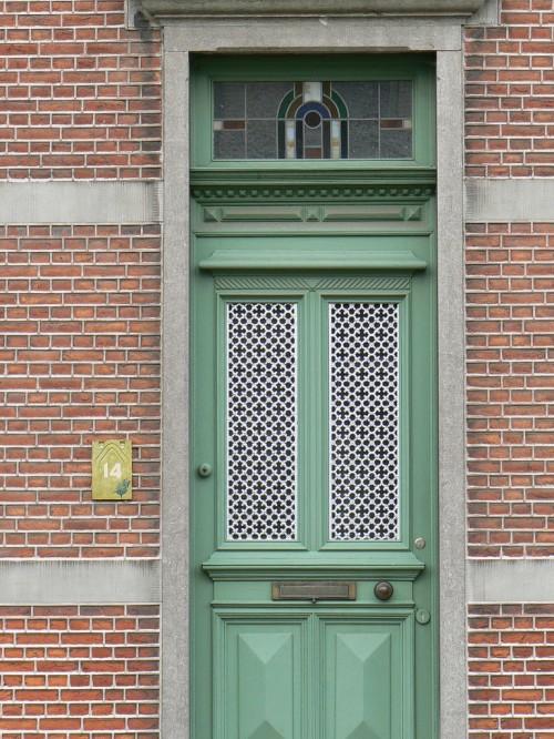 Haustür holz grün  12 coole Design Ideen für attraktive Haustüren