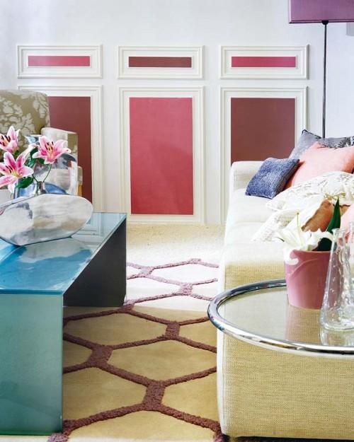 zwei farben dekorativ zierleisten wand weiß