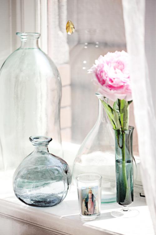 Altmodische Flaschen im Innendesign – 35 Ideen