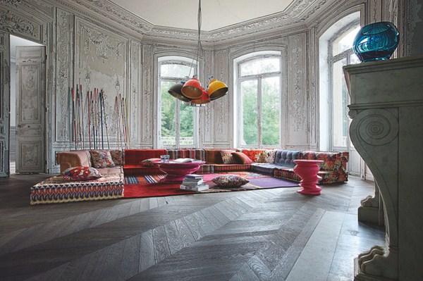 Böhmische Wohnzimmer Roche Bobois Modular Sofa Design