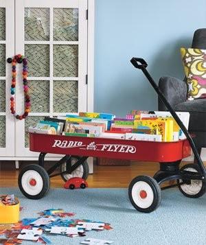 Coole Ideen Organisation Kinderbüchereien Wagen Schrank