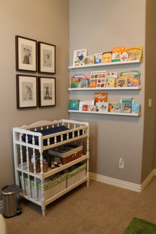 Coole Ideen Organisation Kinderbüchereien Regale Bett Bilder
