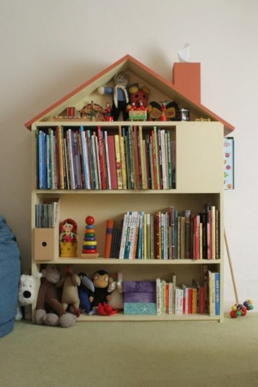 Coole Ideen Organisation Kinderbüchereien Schrank - Regale Haus
