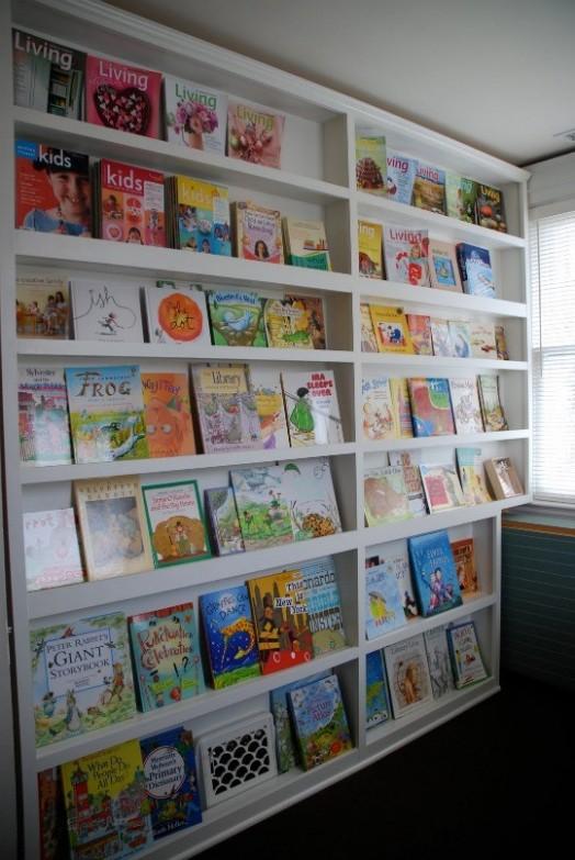 Coole Ideen Organisation Kinderbüchereien Spielplatz Regale Bibliothek