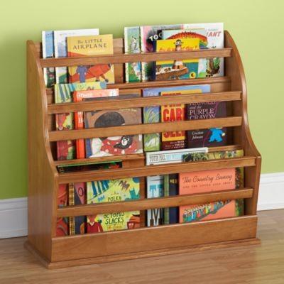 Coole Ideen Organisation von Kinderbüchereien elegante Regale Holz