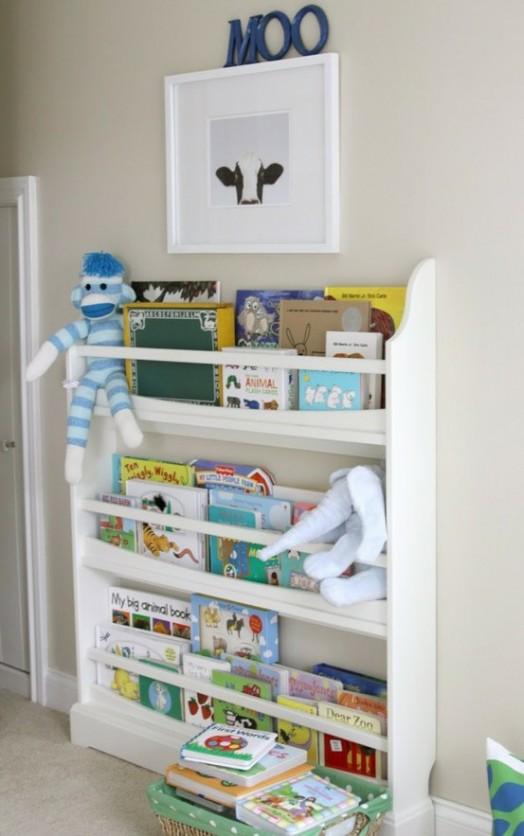 Coole Ideen Organisation von Kinderbüchereien niedliche Regale
