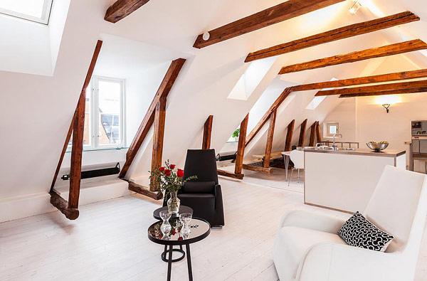 Dynamische Maisonette Stockholm-Gamla Stan coole Fenster