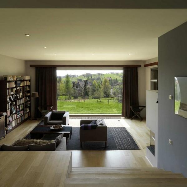 33 Modern Living Room Design Ideas: 30 Ergreifende Durchgehende Wohnzimmer Mit Ausblick