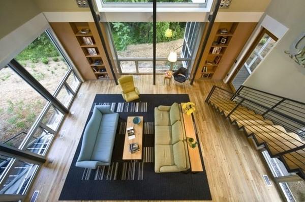 Ergreifende Wohnzimmer Ausblick fantastisches Interieur