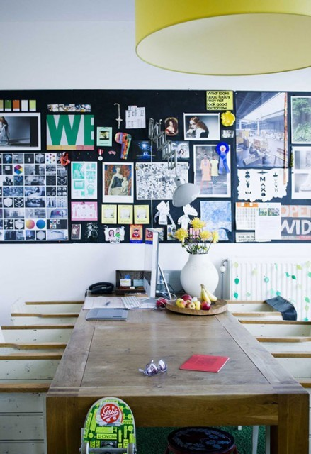 Esszimmer Tisch Inspirationen Wanddekoration Idee