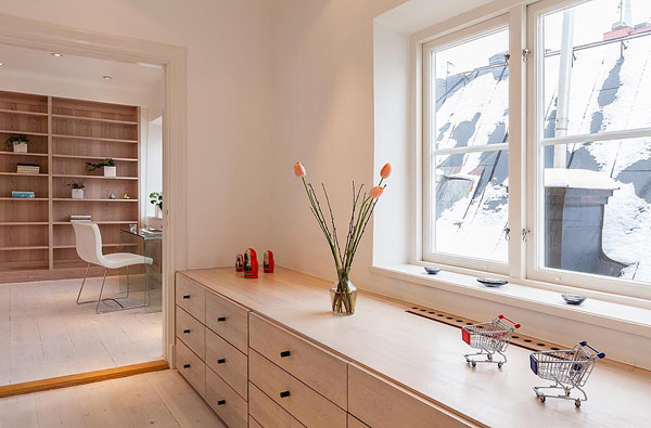 Fantastische Maisonette Stockholm-Gamla Stan Kommode