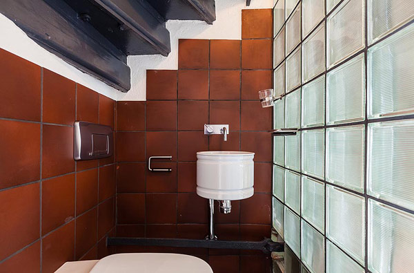 Fantastische Maisonette Stockholm-Gamla Stan Toilette