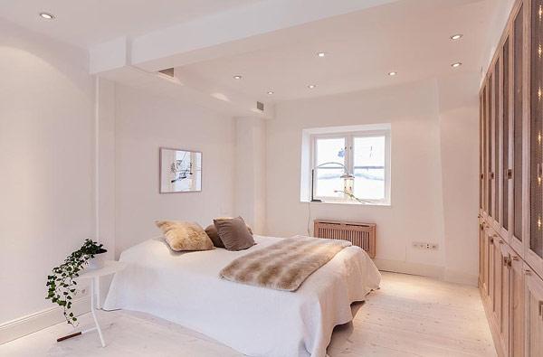 Fantastische Maisonette Stockholm-Gamla Stan skandinavische Schlafzimmer
