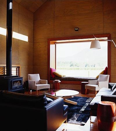 Fenstersitznischen Ideen Wohnzimmer gemütliche Ecke