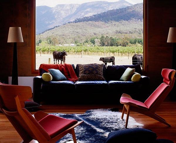 Fenstersitznischen inspirierte Ideen modernes Sofa Teppich