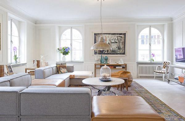 Frische Wohnzimmer-Ideen Jennifer Jansch cooles Sofa großartiges Design