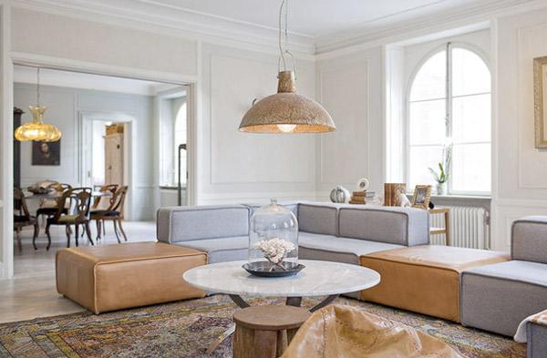 Frische Wohnzimmer Ideen Jennifer Jansch cooles Sofa