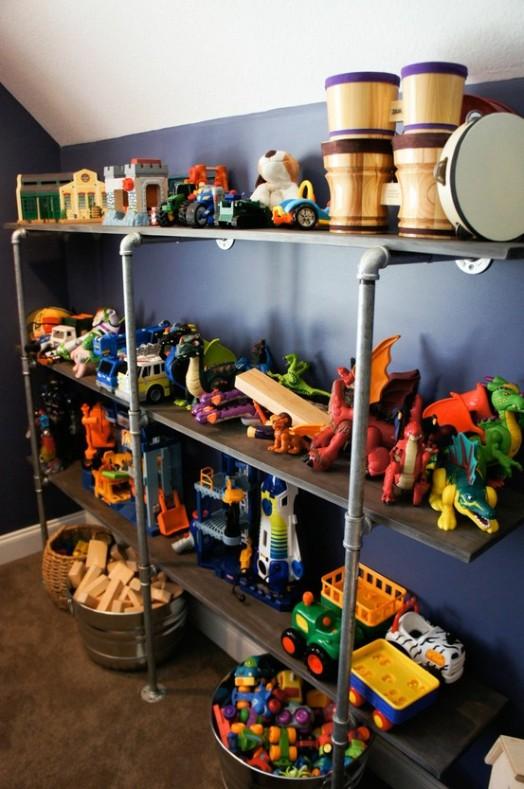 20 Coole Spielzeugregal Ideen Für Kinder ...