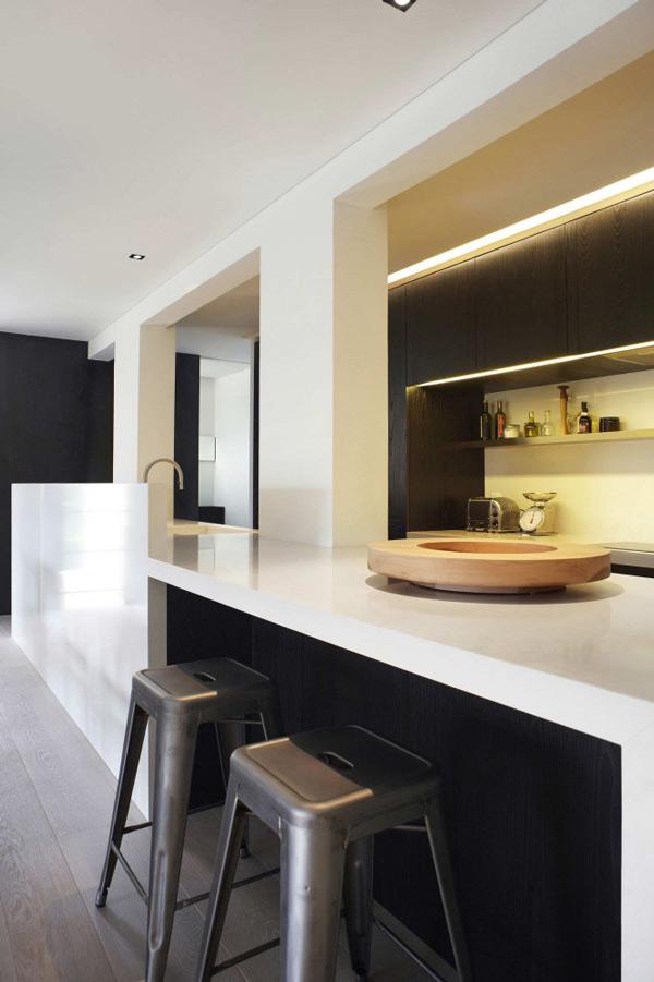 Großraumgestaltungen für Wohnzimmer in Singapur