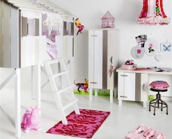 Indoor Baumhäuser coole Ideen Kinder weißes Haus
